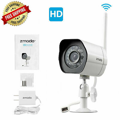 ZMODO WIRELESS SECURITY Camera System ( 2 pack ) Smart HD