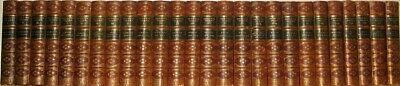 LEATHER Set;Works of CHARLES DICKENS! Library FIRST EDITION! complete 1866 RARE!
