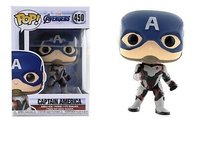 Funko Pop Marvel Avengers: Endgame - Captain America Vinyl Bobble-Head #36661