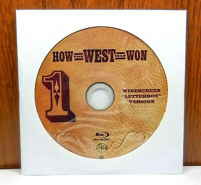 How the West Was Won - Discs Only (Blu Ray, 2-Disc) Letterbox Version / Smilebox