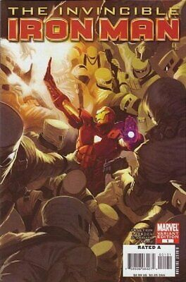 Invincible Iron Man (Vol 1) #1 Presque Neuf (NM) 1 en 25 Variante Marvel Comics