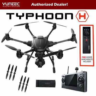 Yuneec Typhoon H - CG03+ 4K - ST16 Pro w/ Range Ext & Free Wizard - BRAND NEW!