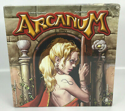 Arcanum by Lo Scarabeo Games Tarot Theme Board Game  - Sealed - Unused