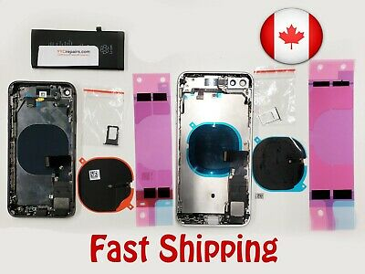 Full Housing Frame Charging Port Power Flex Cable Replacement for iPhone 8 8p