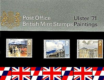 1971 R.M. Presentation Pack MNH - Ulster 71' Paintings Pack # 26A UK Seller