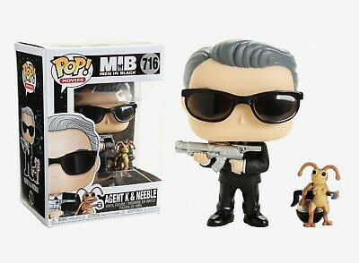 Funko Pop Movies: Men in Black - Agent K & Neeble Vinyl Figure Item #37707