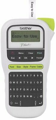 Brother P-touch, PT-H110, Easy Portable Label Maker New. White