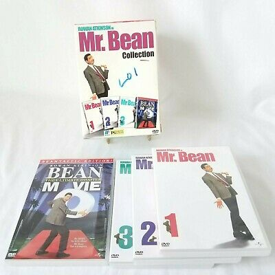 Mr Bean Collection Volumes 1 2 3 and Bean The Ultimate Disaster Movie 4 Discs