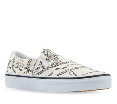 vans chaussures classic slip-on harry potter blanc taille 9.5