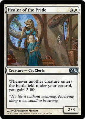 Healer Of The Pride X 4 N/M- Magic 2013 Mtg