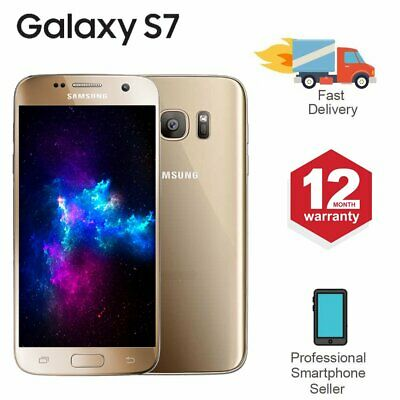 SAMSUNG GALAXY S7 32GB Unlocked 4G SIM Android Mobile Phone Gold
