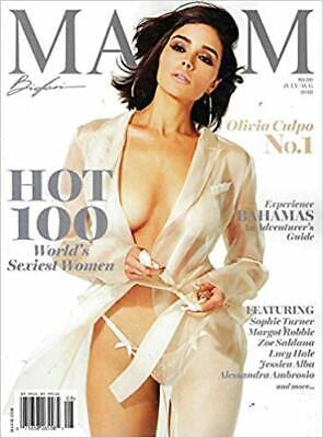 Maxim Magazine Issue:- July August, 2019 Cover :- OLIVIA CULPO