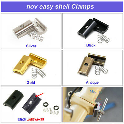 for Brompton neodymium included nov Easy Shell Clamps NEW! // SILVER nov013