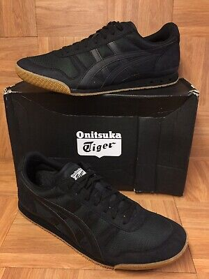 competitive price b5399 a0323 RARE🔥 Asics Onitsuka Tiger Ultimate 81 Black GUM Retro Shoes D626N Sz 12  Men s