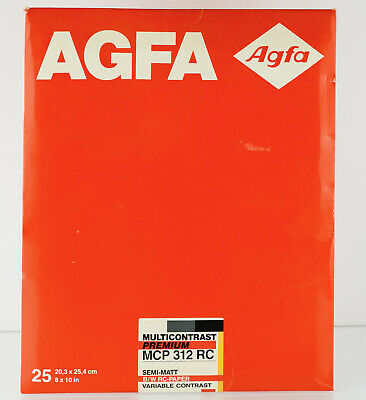 Agfa Multicontrast Premium Photographic Paper 8 x 10 inch