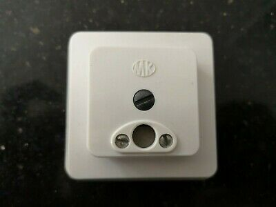 Genuine MK 997 WHI 2A Fused Surface Mount Clock Connector Box - Brand New