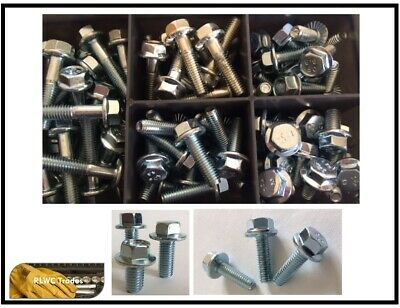 Overig Assorted Box Stainless Steel Flange Bolts Hex Head M6