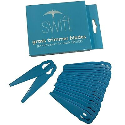 Swift EB310D cordless grass trimmer replacement blades pack of 20