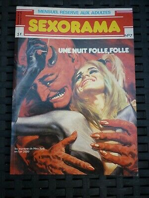 Sexorama N°7: Une nuit folle, folle/ Campus Editions, 1980