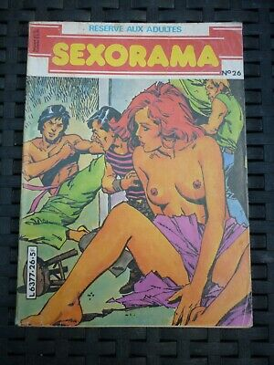 Sexorama N°26: Seul contre tous/ Campus Editions, 1982