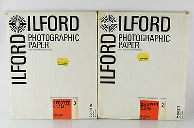 Ilford Ilfospeed Photographic Paper 8 x 10 inch