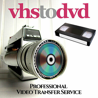 Nottingham VHS to DVD or USB Transfer and Restoration Service + Other Formats