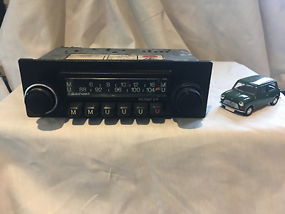 1970,s blaupunkt munster vintage car radio with mp3 ipod input  - full stereo