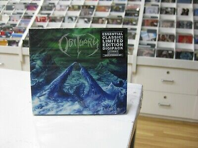 Obituary Cd Europe Frozen In Time 2005 Limited Digipack