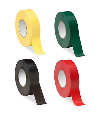 Adhesive Triage Tape Set of 4 MCI Mass Causality 66' Roll Red Yellow Green Black
