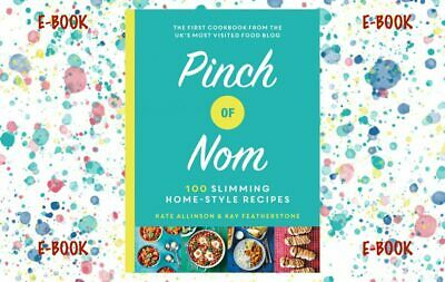 Pinch of Nom 100 Cookbook Slimming Home-style Recipes *Message Me Before Buying*