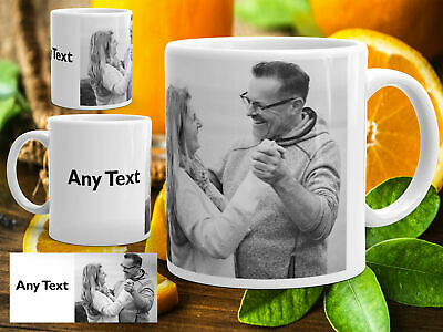 Personalised Mug Photo Image Pictures Add Any Text Gift Tea Coffee Cup 11oz mug