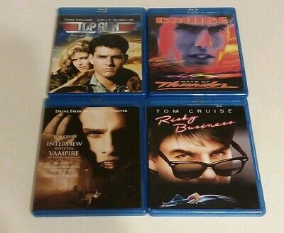 Top Gun, Days of Thunder, Interview With The Vampire & Risky Business (Blu-ray)