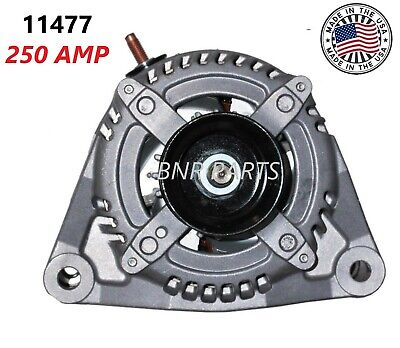 100/% NEW HIGH OUTPUT ALTERNATOR FOR RAM 1500,2500,3500 250AMP *ONE YEAR WARRANTY