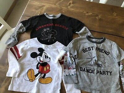 044fafda Baby Gap Boy Shirt Lot 3T And 4T Mickey Mouse Snoopy Charlie Brown Peanuts