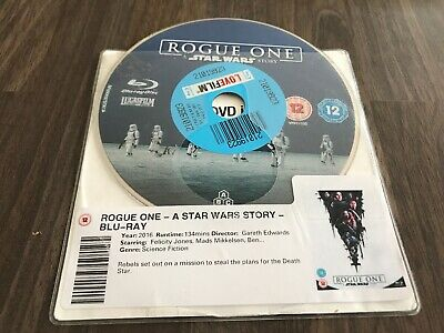 Rogue One: A Star Wars Story Blu-ray 2017 - DISC ONLY