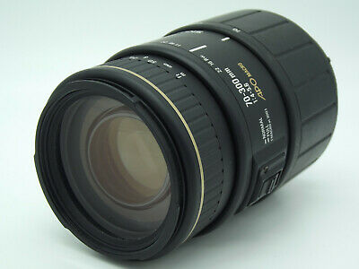 Pentax DSLR fit Sigma APO 70-300mm 1:4-5.6 AF Zoom lens Macro gold band edition