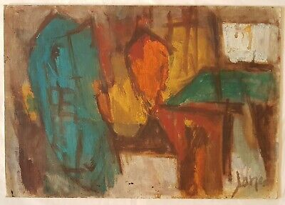 Marcel Janco Authenticity Gallery Dada Modern Jewish Home Office Decor מרסל ינקו