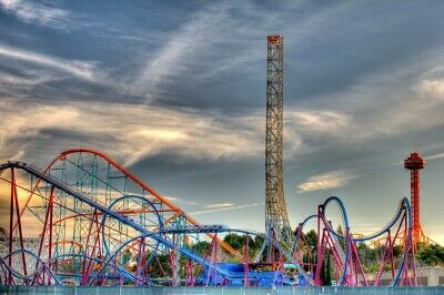 24 Hours Only - Magic Mountain Ticket - Online for 6-9-19 only