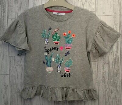 Girls Age 9 (8-9 Years) M&S Short Sleeved Top
