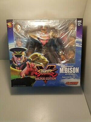 Storm Collectibles M. Bison Battle Costume 1/12 Street Fighter V FREE SHIPPING