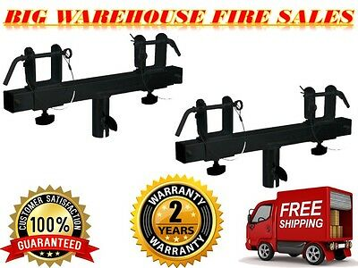 Two (2) Triangle or Square Truss Adapter Bracket Tripod Crank Light Stand Bar