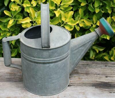 VINTAGE RED GALVANIZED Watering Can Garden spout replacement