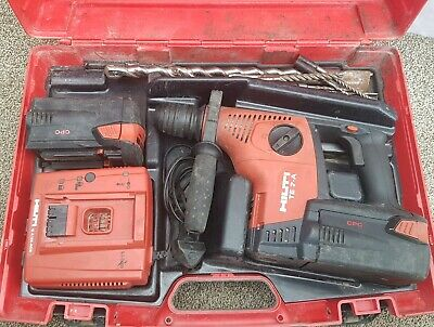 Hilti TE 7-A 36v sds three mode hammer drill +2×3.3ah battery
