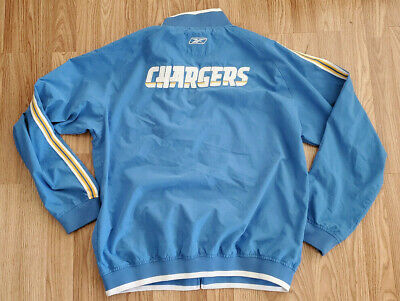 pretty nice 42b92 71c66 LOS ANGELES / SAN DIEGO CHARGERS Size L LARGE ZIP UP HOODIE ...