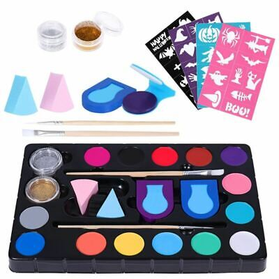 Frcolor 2019 Kids Adults Body Face Paint Oil Painting Party Make Up Palette Kit