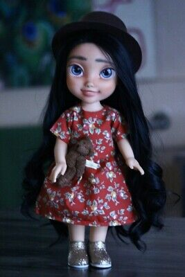 OOAK Repainted Disney Doll with Hat | Kindred Spirit Doll | Zillah