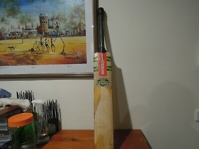 Gray Nicolls Rare Fusion Longblade Banned Handle Made In Aus Eng Willow