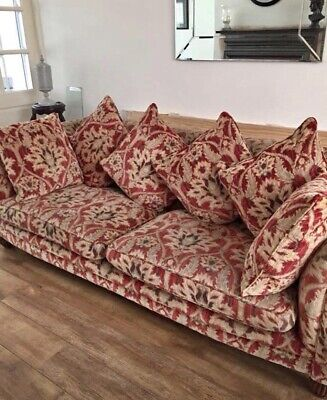 Tetrad Elgar Sofa in Enigma Claret WITH 4 Cushions only