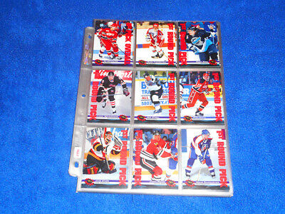 Nhl 1994-95 (Classic Games) Hockey Trading Cards Full Set Cards - Like New