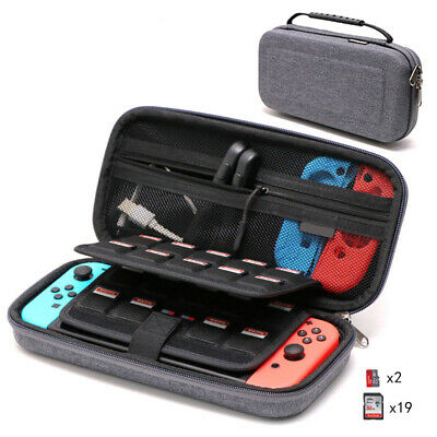 For Nintendo Switch Console Travel Bag Protector Pouch Handle Storage Case Grey